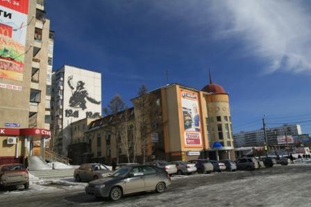 Перекресток пр. Победы и ул. Молодогвардейцев